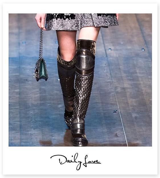 Daily love, la passione del giorno: Dolce & Gabbana boots