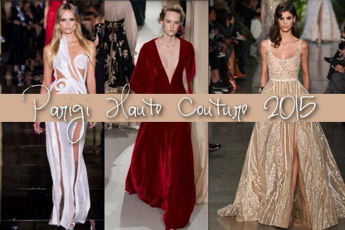 abiti più belli Haute Couture Parigi 2015