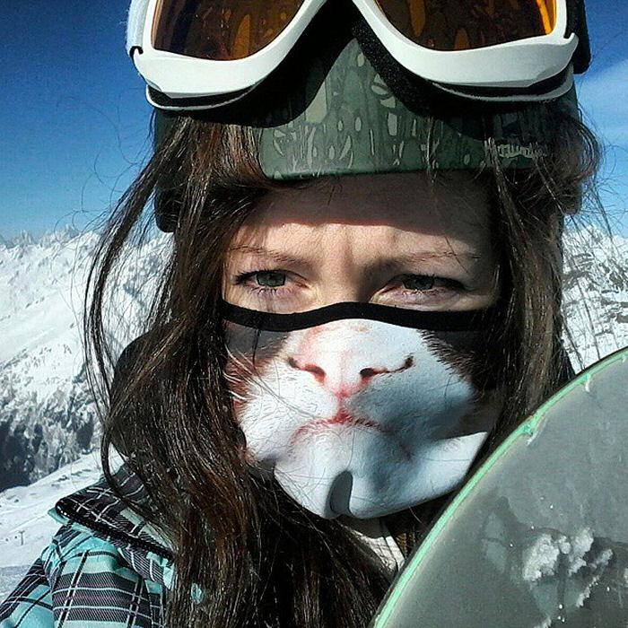 maschere sci divertenti
