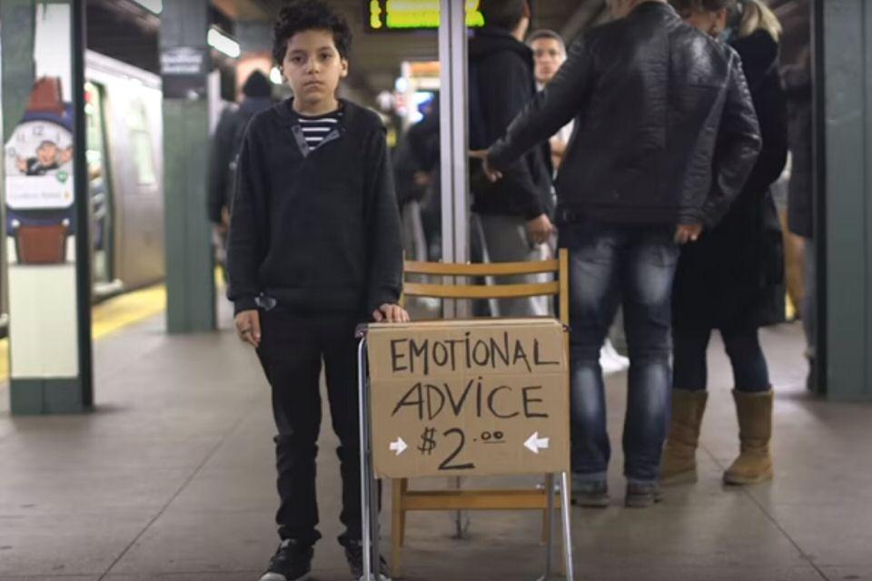 The Emotional Advice Kid